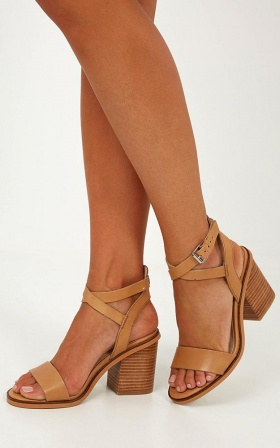 Windsor Smith - Bermuda Heels In Natural Leather