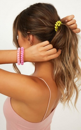 Save You Tonight Hair Tie 3 Pack In Multi