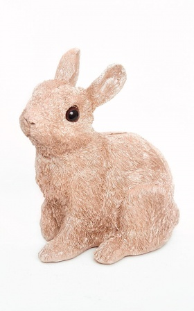 Bunny Bank In Gold