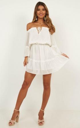 22a4f835d32a Dream Queen Dress In White ...