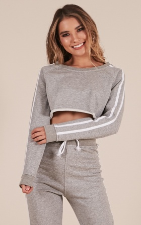 Lit Jumper in Grey Marle