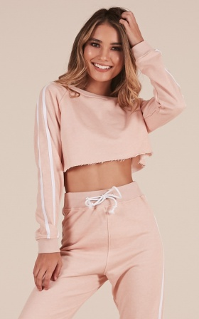 Lit Jumper In Blush