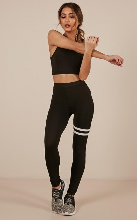 Turnout Tights In Black