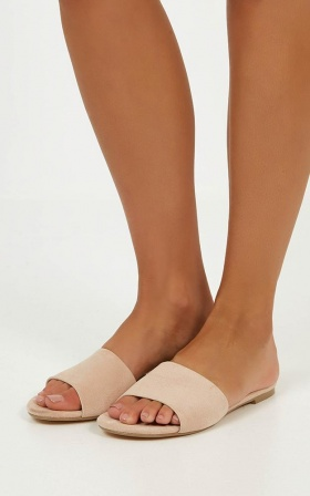 Billini - Ipanema Slides in Blush Micro