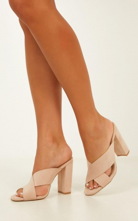 Billini - Orson Heels In Blush Micro