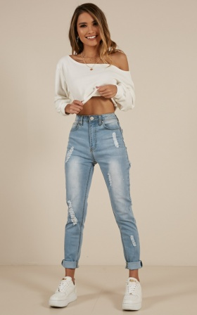 Layla jeans in Blue Wash