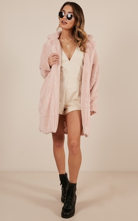Rebel Nature Jacket in blush