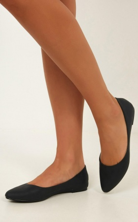 Verali - Renato Flats In Black