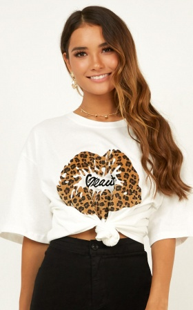Wild Nature Tshirt In Leopard Print