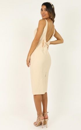 Wedding Guest Dresses Canada.Beauty And The Bow Dress In Cream
