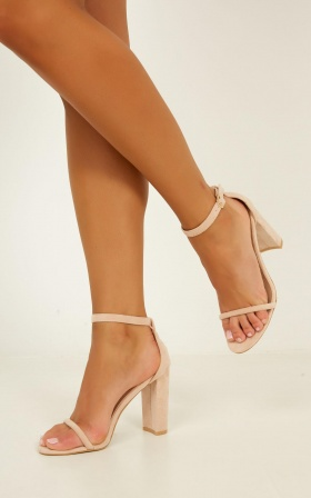 Billini - Jena Heels In Blush Micro