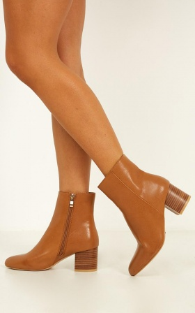 Billini - Kaiya Boots In Tan