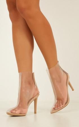 Billini - Vida Boots In Nude