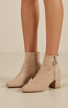 Billini - Keko in stone suede