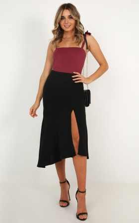 Life Out There Skirt In Black