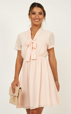 Non Stop Dress In Blush