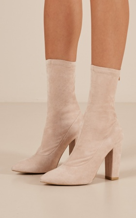 Billini - Octavia Boots In Blush Micro