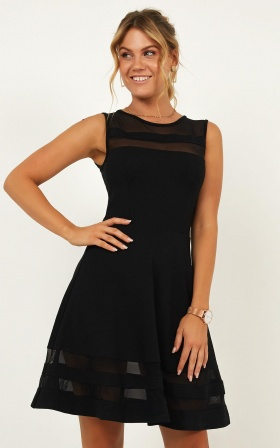 Results Driven Dress In Black