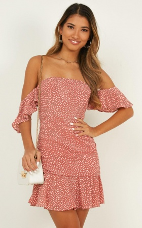 Rosey Sunshine In Dusty Rose Print