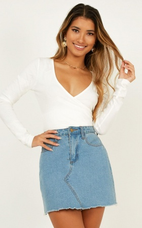 Sweetest Escape Top In White