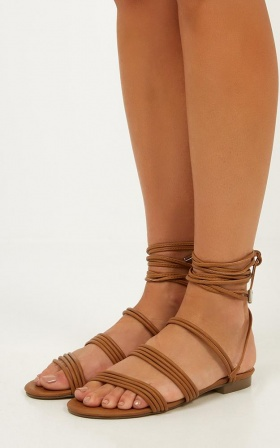 Verali - Sos Sandals In Tan