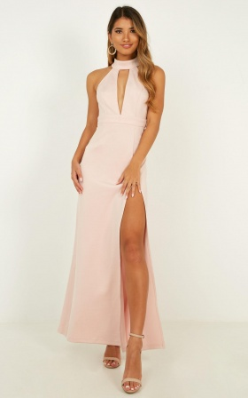 You Are Lovely Dress In Blush