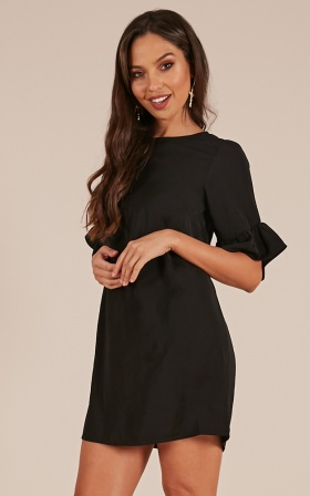 Truly Yours dress in Black