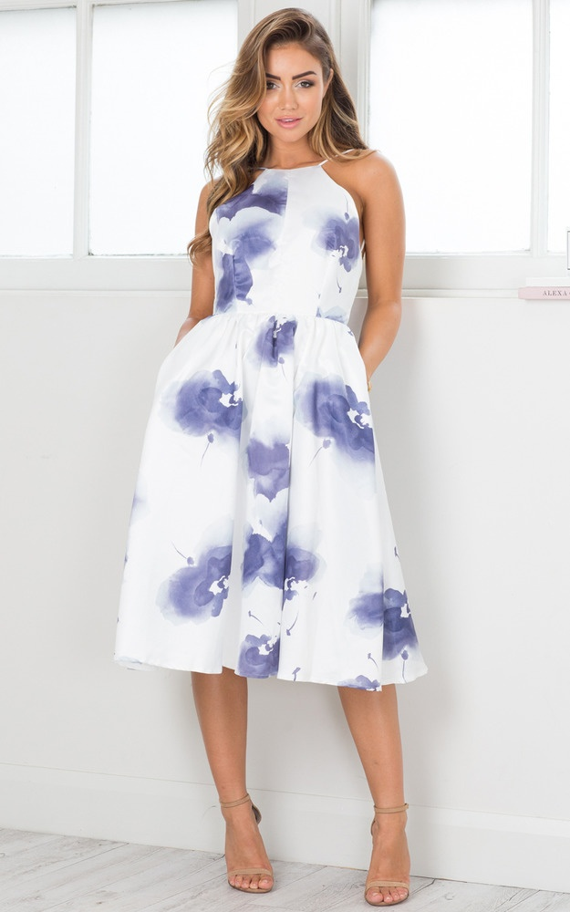 Make It Last Dress In Navy Floral  3a15a96d3ce2e