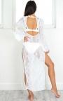 bc74c61f573 Hot Hot Heat Beach Dress In White Lace