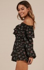 2fc0aa79ce7 Nothing Better Playsuit In Black Floral