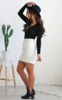 Laced Away Bodysuit In Black  4afb0e2df