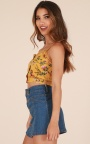 14dee39100392c Pretty Lady Top In Mustard Floral